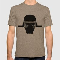 the new villain's helmet, kylo ren Mens Fitted Tee Tri-Coffee SMALL
