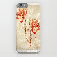 iPhone & iPod Case featuring flower3 by Duygu Kondoglu