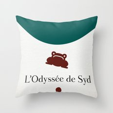 L'Odyssée de Syd Throw Pillow