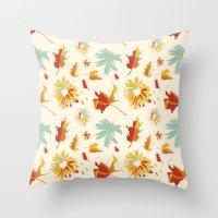 Autumn/Fall Throw Pillow