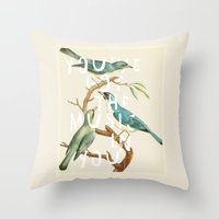 The Music In You Throw Pillow