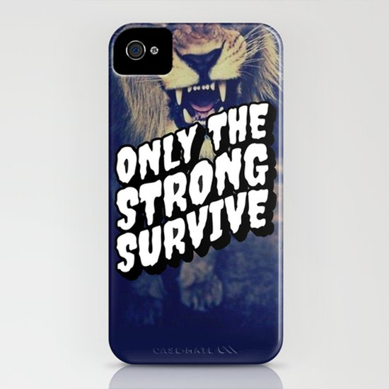 Only the strong Art Print