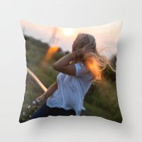 Wherever The Winds Take … Throw Pillow