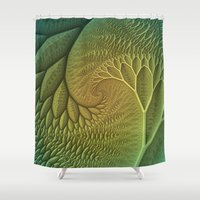 Innie and Outie Shower Curtain