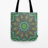 Fern Frond Lace Kaleidos… Tote Bag