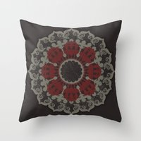 Cirquedumonet #2 Throw Pillow