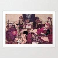 Vanity Teen Art Print