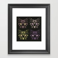 CAT FANTASY Framed Art Print