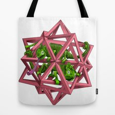 color me m.c. cubed! Tote Bag