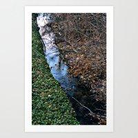 Brook Art Print