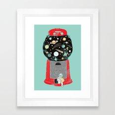 My Childhood Universe Framed Art Print