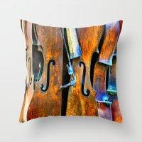 Orchestra Throw Pillow
