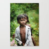08 kids Canvas Print