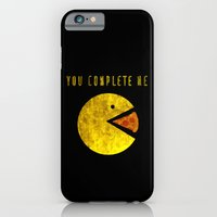 iPhone & iPod Case featuring You Complete Me by Josh Franke