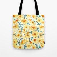 Yellow Jonquils Tote Bag