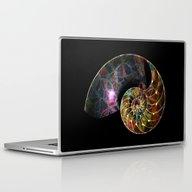 Fossilized Nautilus Shel… Laptop & iPad Skin