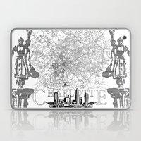 Charlotte Map Laptop & iPad Skin