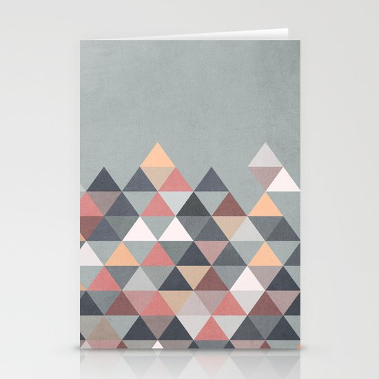 Nordic Combination IV Stationery Card
