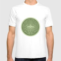 Greenman Mens Fitted Tee White SMALL