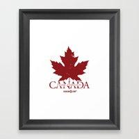 Team Foreign Canada Framed Art Print