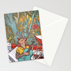 A ride and a song Stationery Cards