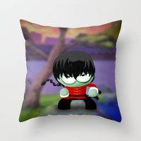 Ranma Saotome! Throw Pillow