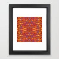 PANDANUS BATIK Framed Art Print