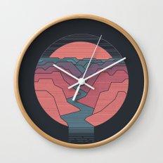Canyon River Wall Clock