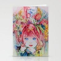 Nadias dream garden Stationery Cards