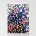 Midnight Floral Garden Stationery Cards
