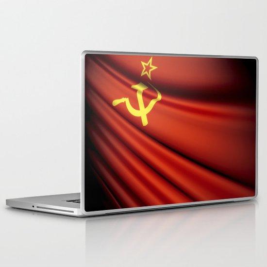 Flag of Soviet Union (1922-1991) Laptop & iPad Skin