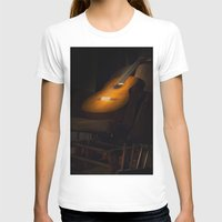 guitar T-shirts featuring guitar by Arman Ayva