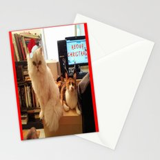 LES CATASTROPHES XMAS EDITION Stationery Cards