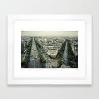 Paris Likes You Framed Art Print