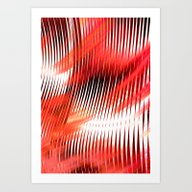 RAISED BY SHARKS Art Print