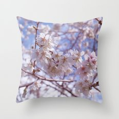 Blossom, Bloomin Blossom.  Throw Pillow