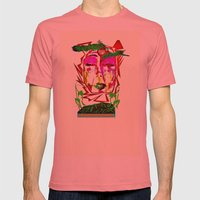 Ready for The Floor Mens Fitted Tee Pomegranate SMALL