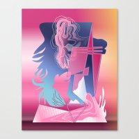 Abstract Design 7750 Canvas Print