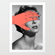 Art Print featuring Burning Hands by Tyler Spangler