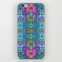 Fractal Art Stained Glass G372 iPhone & iPod Skin