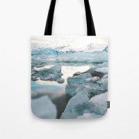 Iceland Glacier Lagoon |… Tote Bag