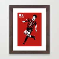 K is for Kaka Framed Art Print