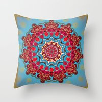 Mix&Match:  Merry Christmas From Tibet (with LOVE!) 03 Throw Pillow