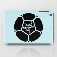 Brazil World Cup 2014 - Poster n°5 iPad Case
