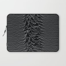 Unknown Radio Waves - Unknown Pleasures Laptop Sleeve