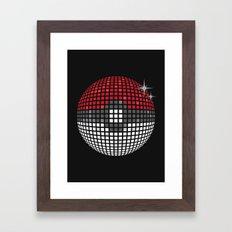 Discopoke Framed Art Print