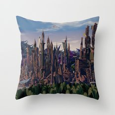 Rise of Ruin Throw Pillow