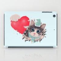 Steal Heart (light) iPad Case