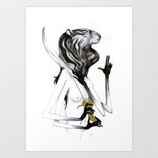 A Forest's Guardian 2 Art Print