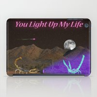 You Light Up My Life iPad Case